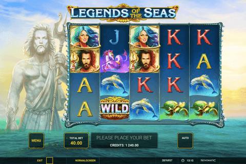 legends of the seas novomatic