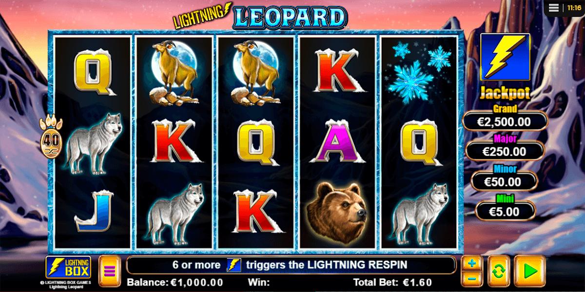 lightning leopard lightning box