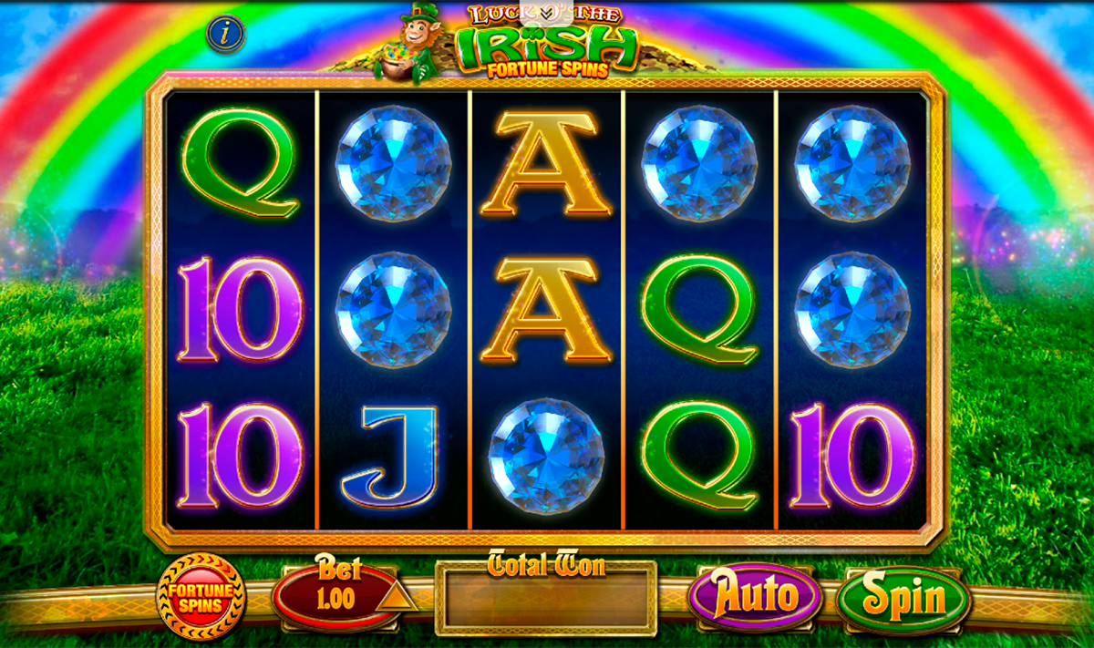 luck o the irish fortune spins blueprint