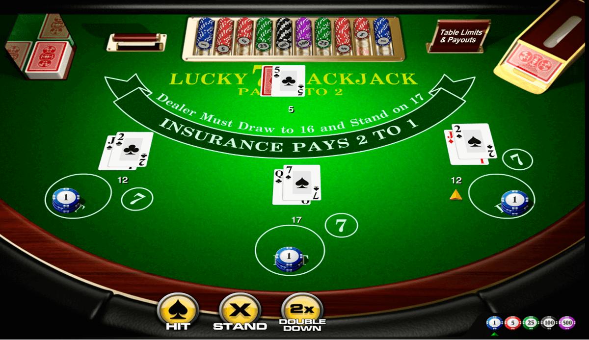 lucky 7 blackjack amaya