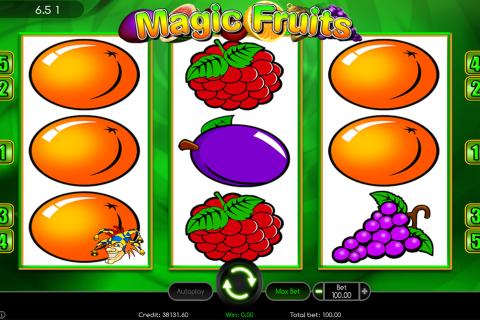 magic fruits wazdan
