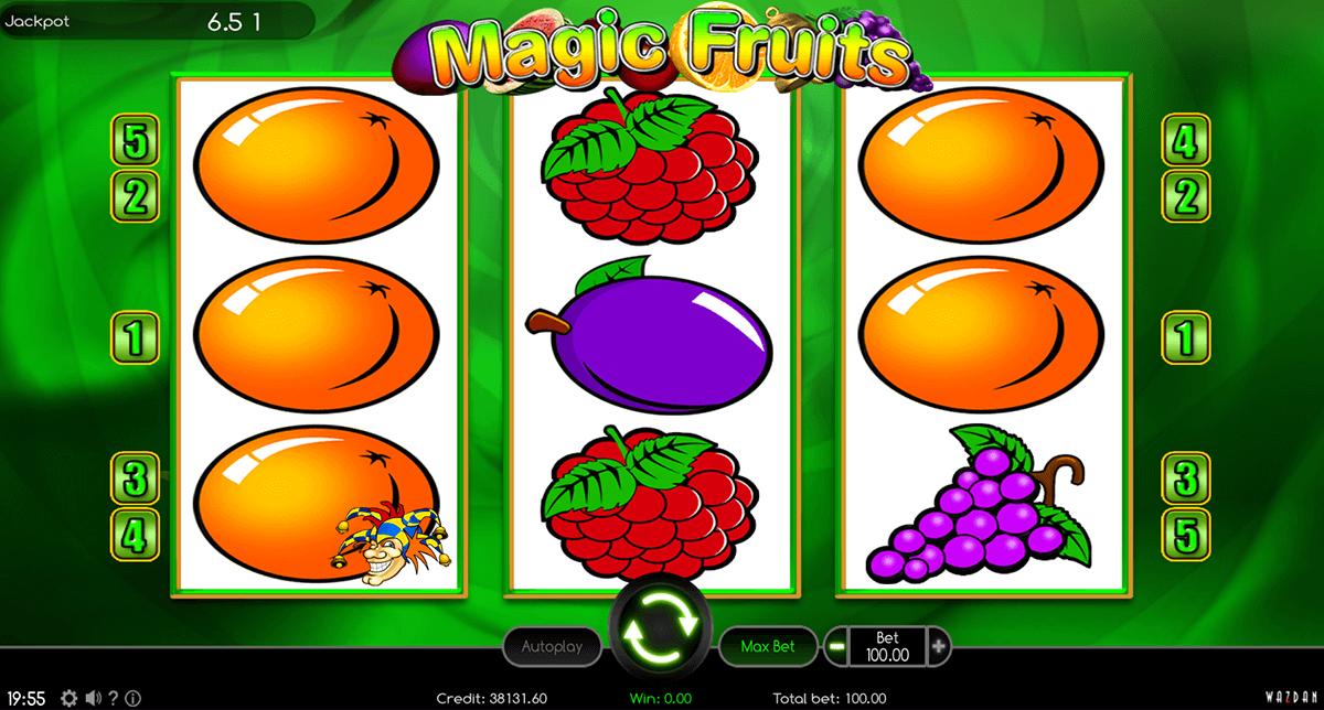 magic fruits wazdan