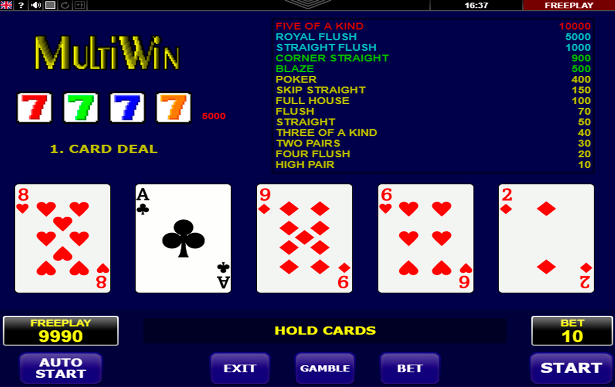 multi win amatic