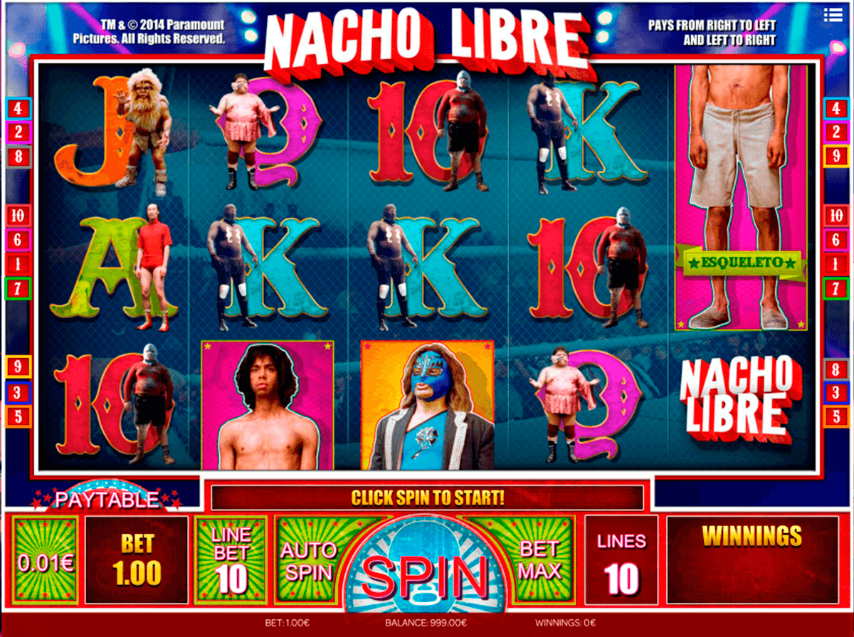 nacho libre isoftbetm