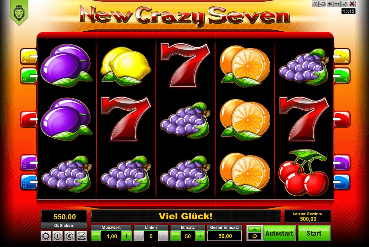 new crazy seven lionlinem