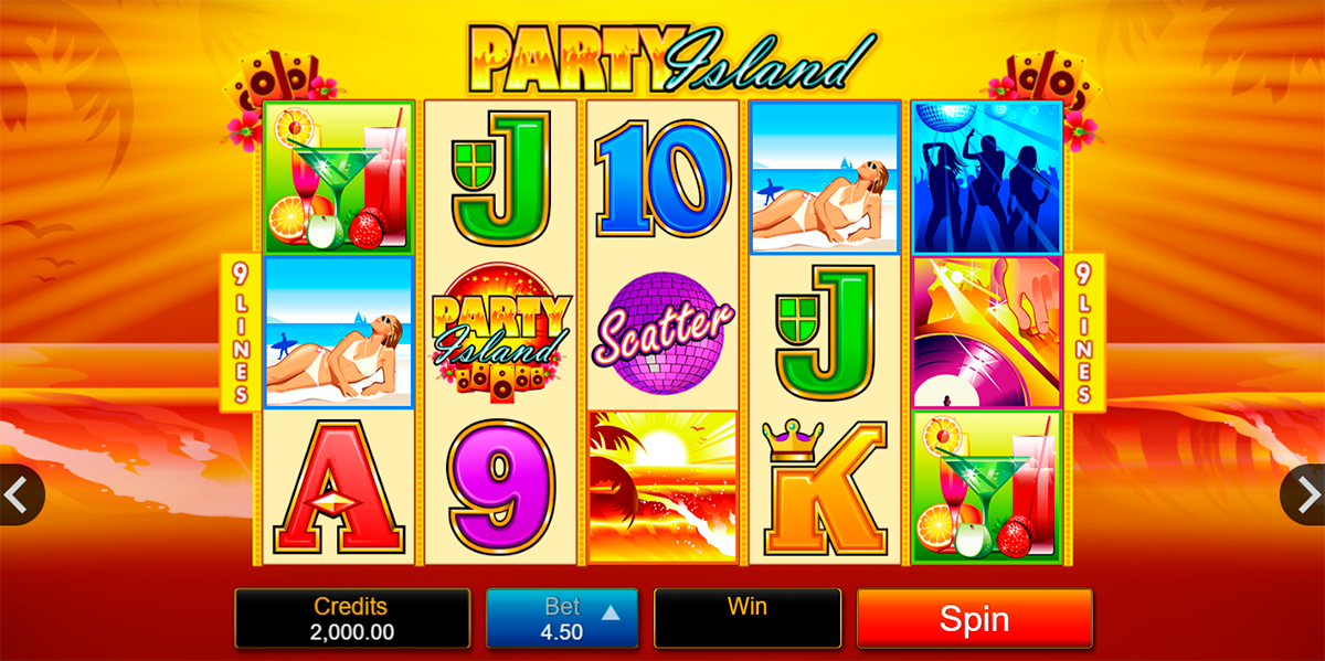 party island microgaming