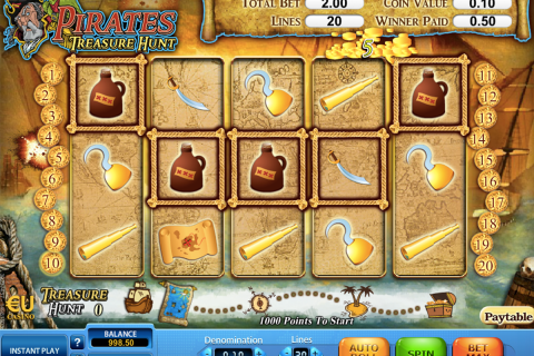 pirates treasure hunt skillonnet