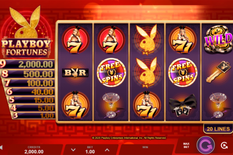 playboy fortunes microgaming
