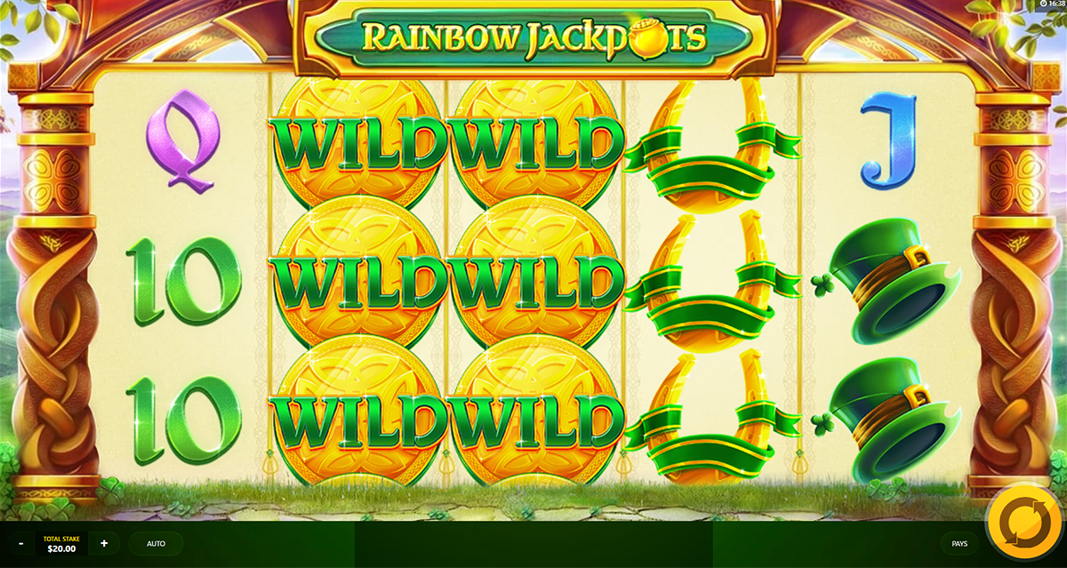 rainbow jackpots red tiger