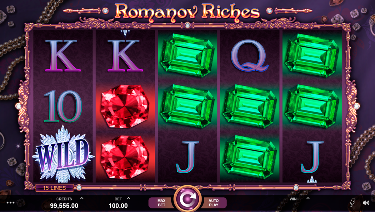 romanov riches microgaming