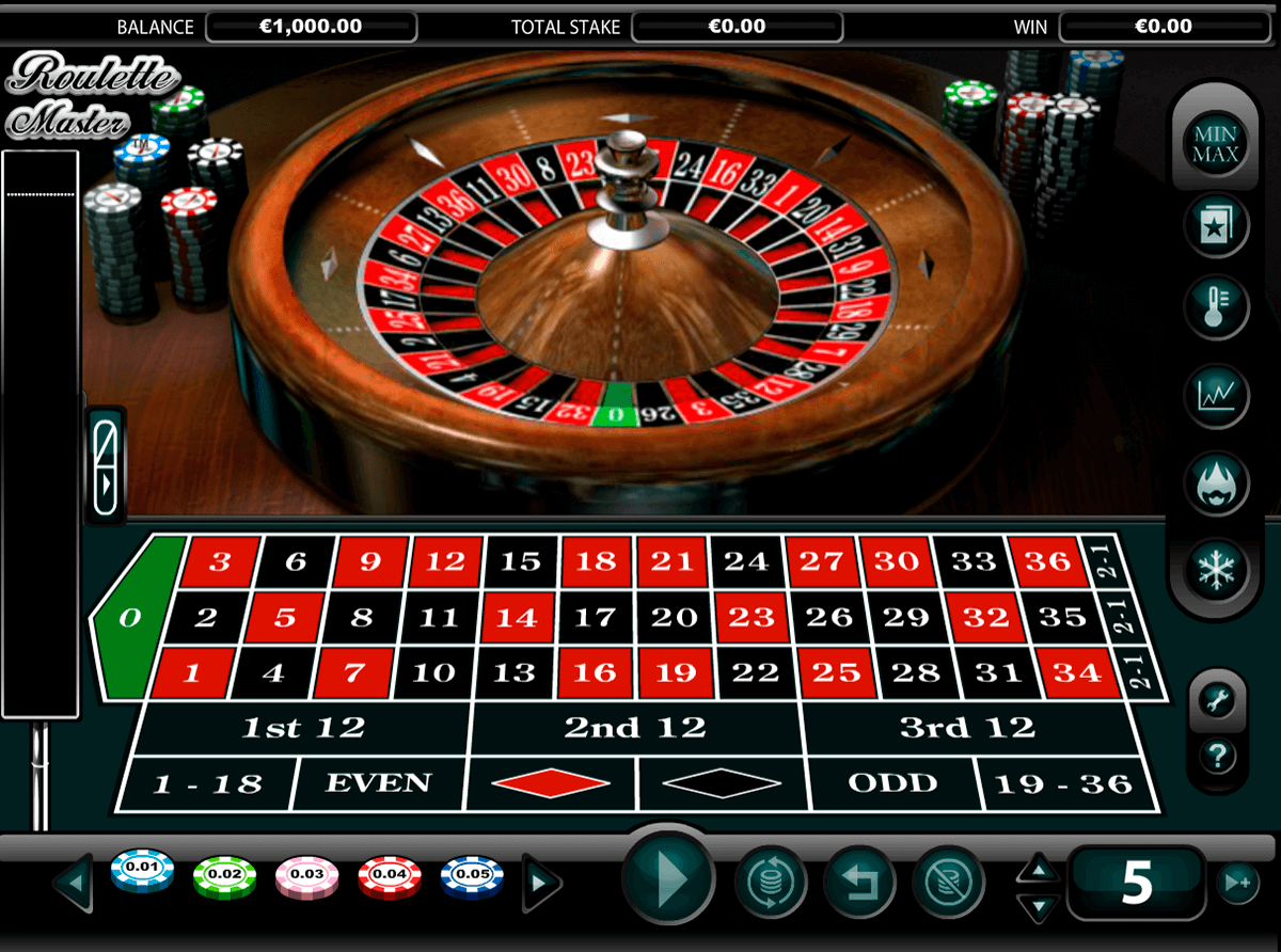 roulette master nextgen gaming