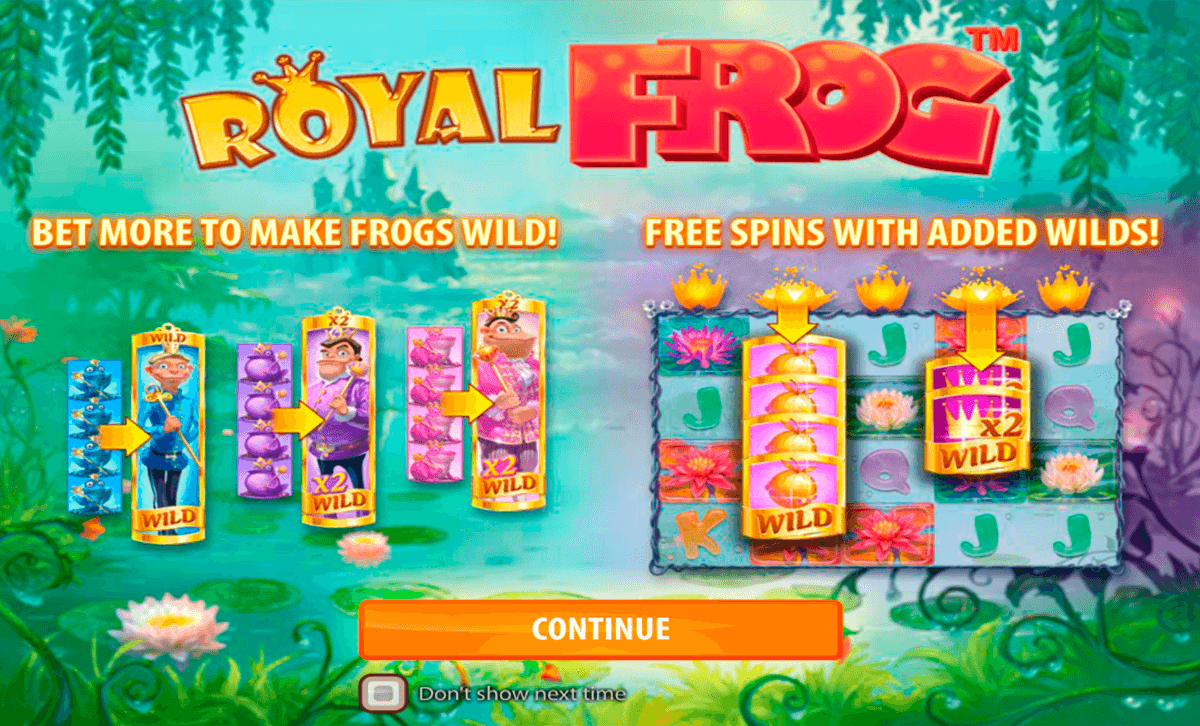 royal frog quickspinm