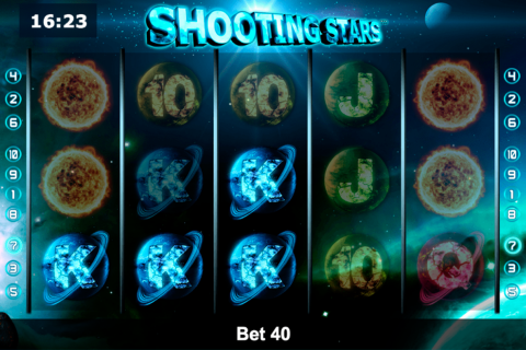 shooting stars novomatic