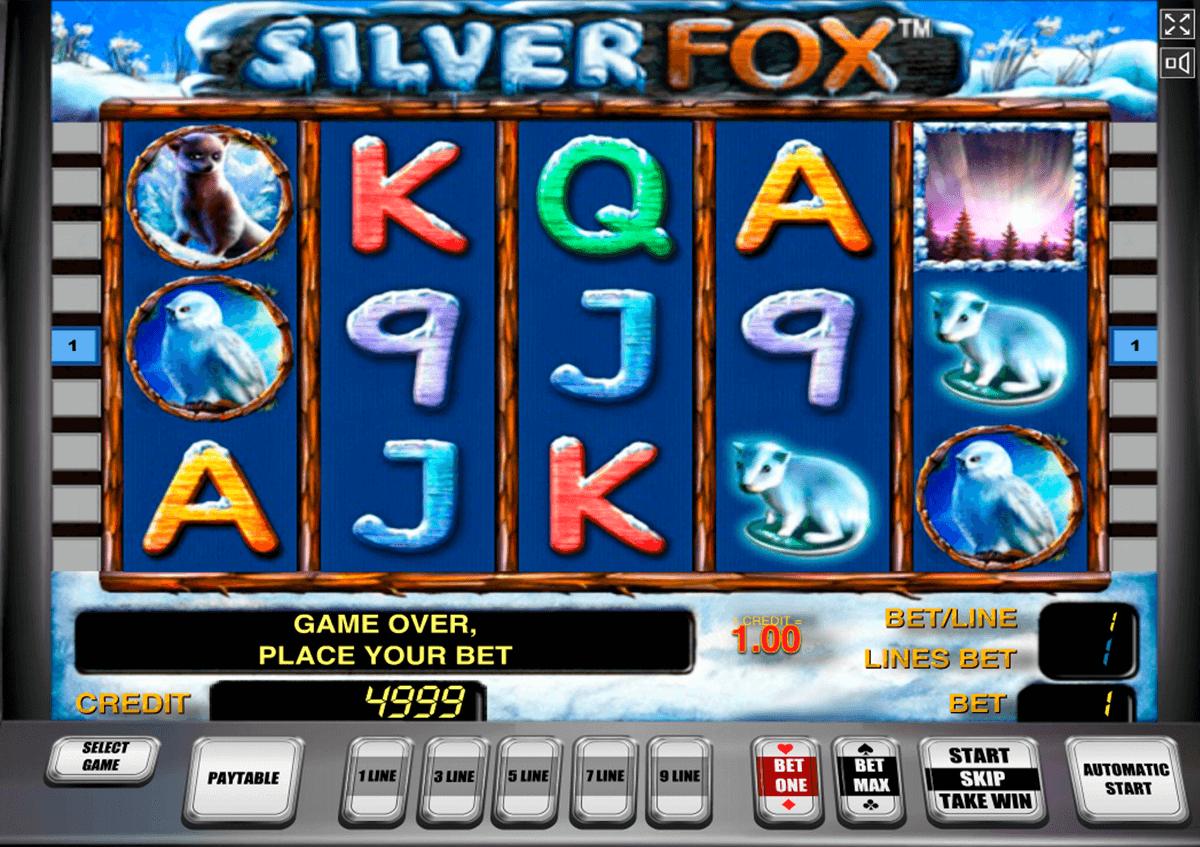 silver fox novomatic