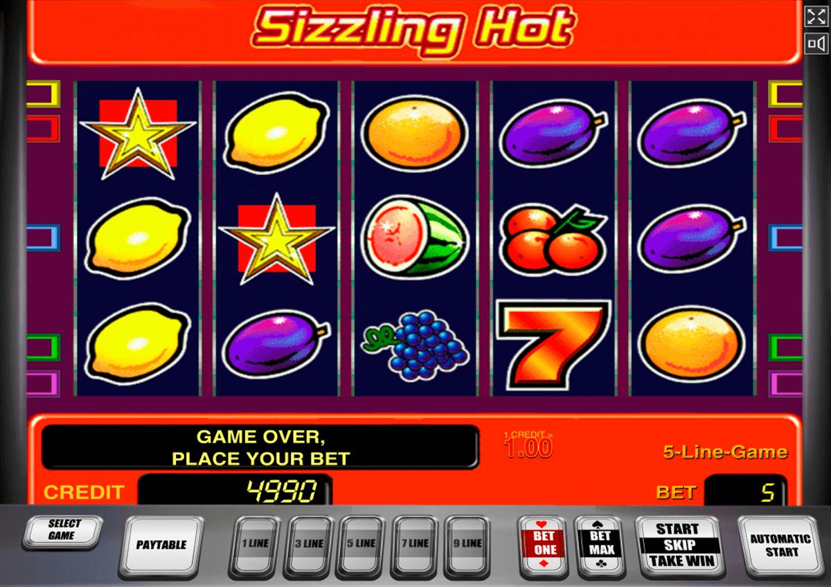 Sizzling Hot Online Echtgeld