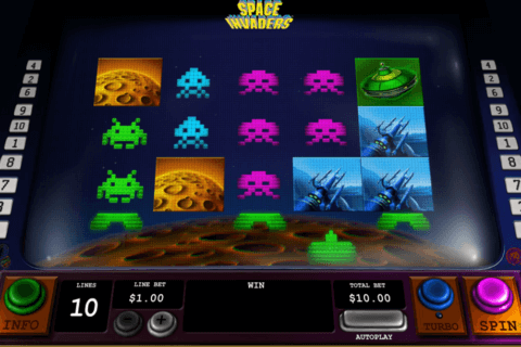space invaders playtech