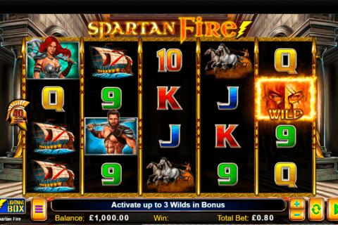 spartan fire lightning bo