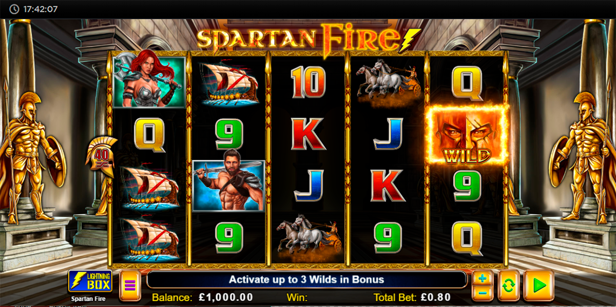 spartan fire lightning box