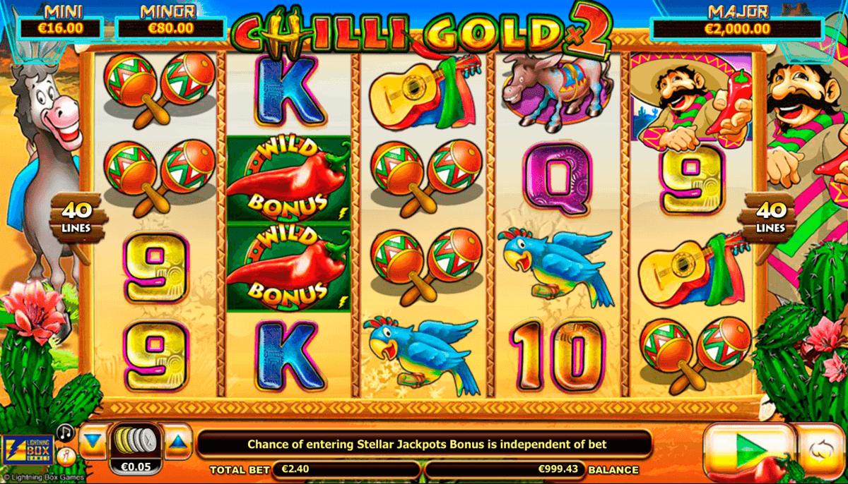 stellar jackpots with chilli gold x2 lightning box