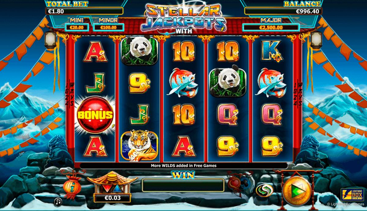 stellar jackpots with more monkeys lightning box