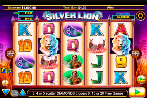 stellar jackpots with silver lion lightning bo