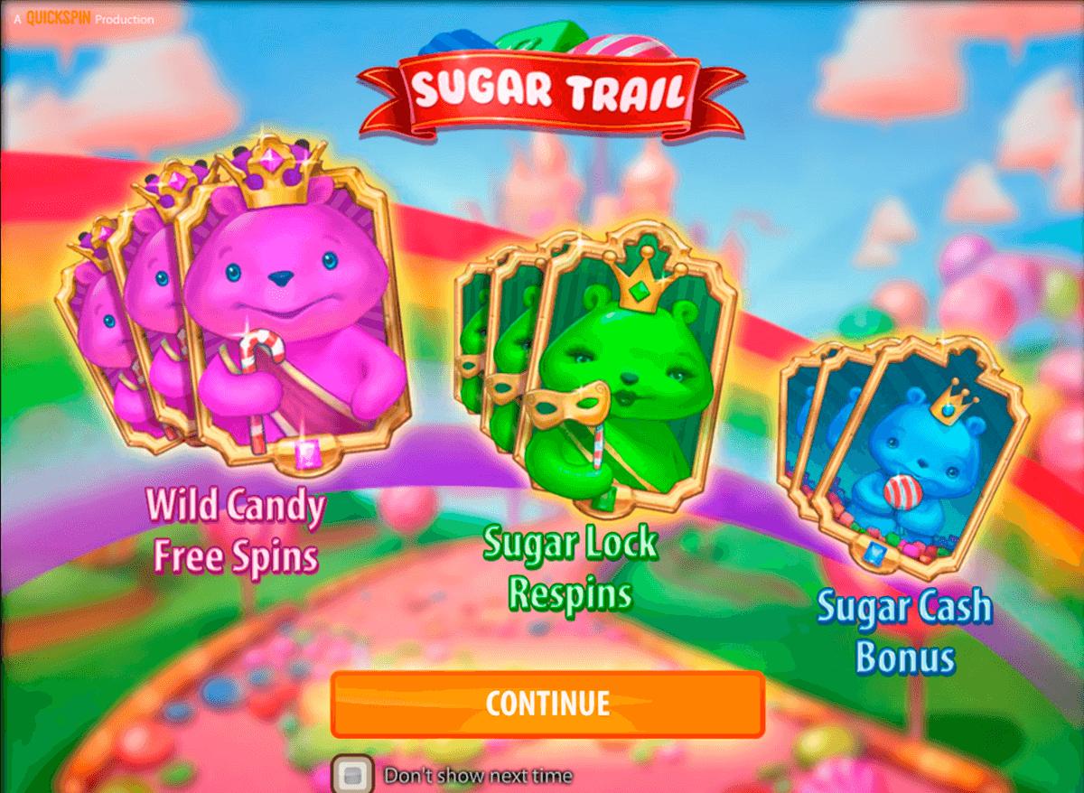 sugar trail quickspinm