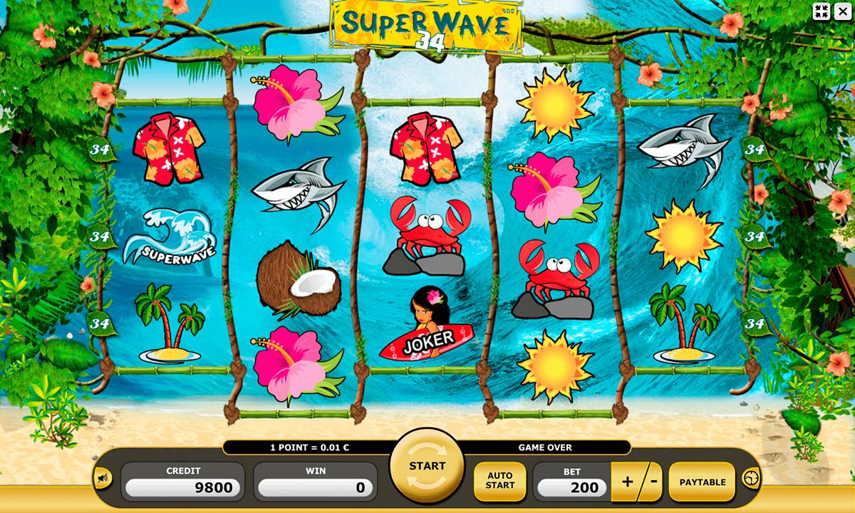 super wave 34 kajot