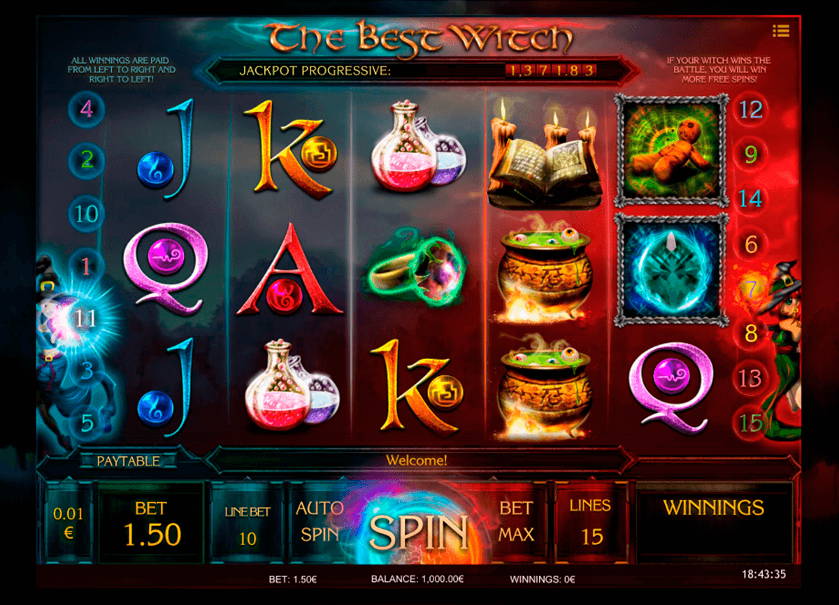 Spiele Myrtle The Witch - Video Slots Online
