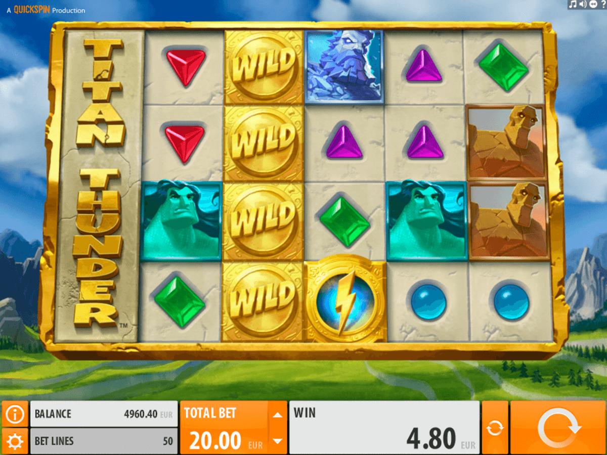 Titan Thunder Slot Machine Online ᐈ Quickspin™ Casino Slots