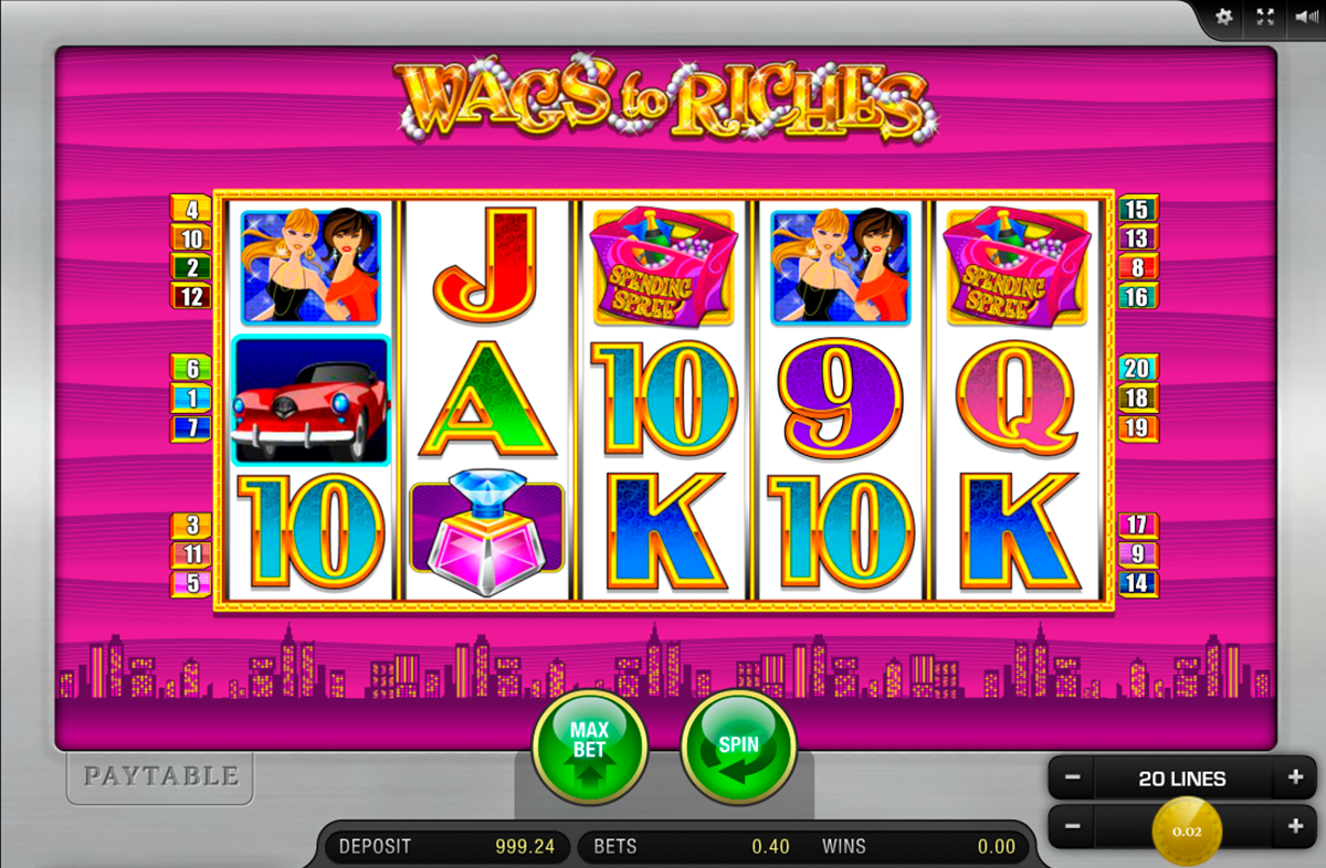 wags to riches merkur