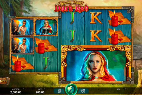 wicked tales dark red microgaming